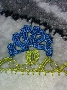 oya (2) - Kadınlar Sitesi Crochet Shirt, Knit Crochet, Crochet Boarders, Pinterest Crochet, Crochet Mermaid Tail, Fabric Beads, Crochet Videos, Antique Lace, Chain Stitch