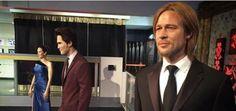 Mira lo que hizo el Museo de cera con las estatuas de Brad Pitt...