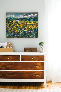 Love the dresser - A Couple Cooks