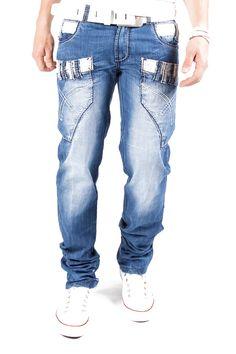 Kosmo Lupo Double Jeans Blau Km093 1S1H.DE - www.1s1h.de/kosmo-lupo-double-jeans-blau-km093.html