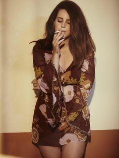 "lanadelreying: "" Lana Del Rey by Francesco """