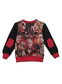 HOTTOPIC.COM - Star Wars Characters Sublimation Toddler Crew Pullover