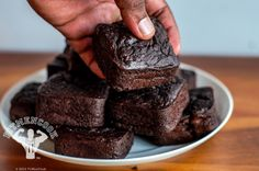 I'm so going to try these! Healthy Post-Workout Sweet Potato Brownies | Fit Men Cook