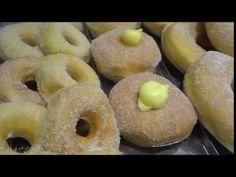 Ricetta Ciambelle e Bomboloni Fatte in casa - Corso di Pasticceria - YouTube Bomboloni, Doughnut, Desserts, Youtube, Food, Home, Tailgate Desserts, Deserts, Eten
