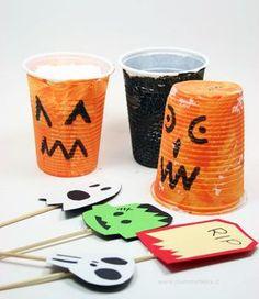 Halloween bicchieri mostruosi