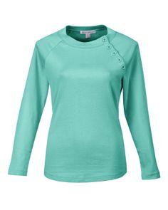 Women's Preshrunk Rib Scoop Neck Long Sleeve Knit (100% Cotton 1*1)  Tri mountain LB393 #Cotton  #scoopneck #Tiffany