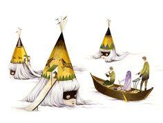 Las ilustraciones surrealistas de Andrea Wan | itfashion.com