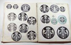 Linked: Starbucks Logo Sketches