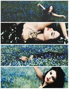 "Selena Gomez ""Come and Get It"" I want to lay in a field like this. :P"