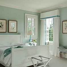 palladian blue benjamin moore -  love this.... living room maybe, master bedroom with coral accents
