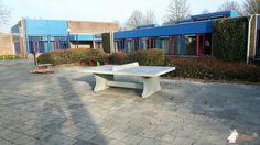 Pingpongtafel Naturel Beton bij Koraalgroep het Driespan in Breda