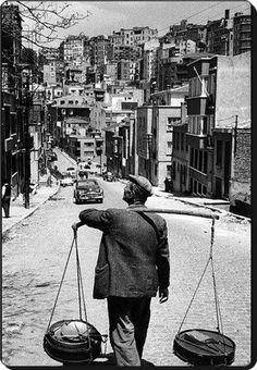 Yoğutçularımızı hatırlayan var mı? Cihangir - 1955
