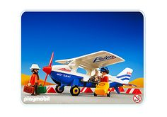 Air Taxi - PM Germany PLAYMOBIL ® Germany Taxi, Wooden Toys, Baby Strollers, Children, Yolo, Germany, Detail, House, Activity Toys