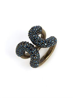 Encrusted Cortina Ring | BaubleBar