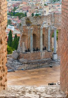 The Greek theatre in Taormina
