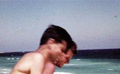 The Kennedys — bobbykennedy: Jack and Bobby filmed by Ethel. Les Kennedy, Robert Kennedy, Jackie Kennedy, Jack Johns, Drew Scott, John Fitzgerald, Greatest Presidents, John Mayer, Celebrity Babies