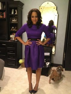 Love the hair Tia And Tamera Mowry, Cute Dresses, Dresses For Work, Celebs, Celebrities, Business Attire, Dress Codes, Celebrity Style, Lady