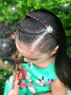 Save by Hermie Cute Hairstyles For Kids, Girls Natural Hairstyles, Crown Hairstyles, Little Girl Hairstyles, Braided Hairstyles, Braid Styles For Girls, Girls Braids, Curly Hair Styles, Natural Hair Styles