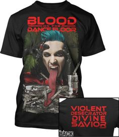 33% Off was $20.95, now is $13.95! Blood on the Dance Floor Divine Savior Slim Fit T-Shirt