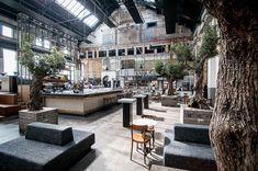 Khotinsky in Dordrect Restaurant Concept, Restaurant Design, Restaurant Bar, Cafe Bistro, Cafe Bar, Cafe Concept, Industrial, Coffee Design, Commercial Interiors