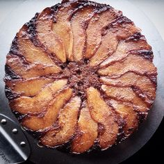 Brown Butter Pear Upside Down Cake // @moymoyzai. Find this #recipe and more on our Brown Butter Feed at https://feedfeed.info/brownbutter?img=303844  #feedfeed