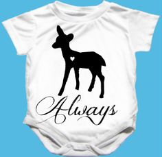 Always Harry Potter Doe Onesie Snape Baby by MamaGooseBoutique, $14.00