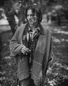 johnny depp. in a poncho is #modwestern