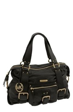 NWT Michael Kors Leather Satchel!!!. Starting at $100 on Tophatter.com!