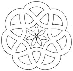Designs to print simple mandalas simple mandala coloring pages pour Mandala Design, Mandala Pattern, Mandala Coloring Pages, Colouring Pages, Coloring Books, Adult Coloring, Stained Glass Patterns, Mosaic Patterns, Embroidery Patterns