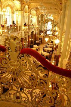 Budapest's New York Palace Café interior WOW,