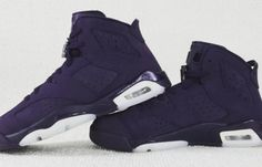 A Better Look At The Upcoming Air Jordan 6 GS Navy Suede