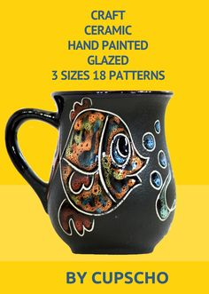 Wonderful Cute Fish Will Make You Joyful Mood In The Morning. Design Mug Idea For  Real Coffee Lovers. Buy This Pottery Mug In Our Shop On Amazon And Make  Your Morning ...
