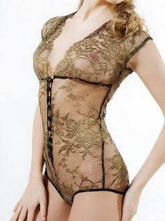 handmade in the U.K. bodysuit  something like this under wedding dress