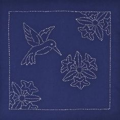 Last time we talked about using sashiko to stitch images. One of the things that I saw happening as I tried that, was the way that the designs that worked best tended to come from stencil designs. This time we are going to look at sample...