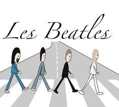 """@morgane.facilitation on Instagram: """"Les Beatles, ma grande les a découvert il y a peu et m'a demandée de les dessiner, elle va le faire en parallèle aussi.  Et vous avez vous…"""" Les Beatles, Instagram, Draw"""