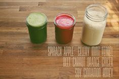 On Juicing by Joy the Baker (she uses a Hurom Slow Juicer)