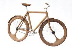 木製自転車 by Jan Gunneweg