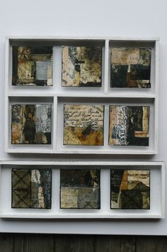 Like the framing Mixed media art by michaela mara Collages, Mixed Media Collage, Collage Art, Inspiration Artistique, Wax Art, Mini Paintings, Encaustic Painting, Assemblage Art, Mix Media
