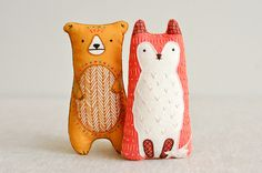 Kiriki Press Bear & Fox