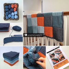 all the stages of making a pattern Merino Wool Blanket, Crochet Patterns, How To Make, Baby, Accessories, Home, Crochet Pattern, Ad Home, Baby Humor