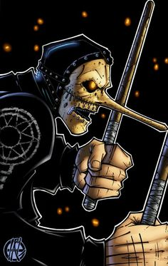 chris of slipknot 2003 by IRLGZZ on DeviantArt Slipknot Tattoo, Slipknot Band, Heavy Metal Rock, Heavy Metal Music, Rock And Roll, Rockabilly, Slipknot Corey Taylor, Chris Fehn, Hardcore Music