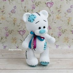 Teddy Bear Patterns Free, Crochet Teddy Bear Pattern, Knitted Teddy Bear, Plush Pattern, Crochet Patterns Amigurumi, Crochet Dolls, Teddy Bear Clothes, Teddy Bear Gifts, Teddy Bear Toys