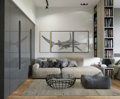 Contemporary home library 900x750 Modern Home Library Ideas for Bookworms and Butterflies