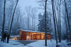 Small House by Maryann Thompson Architects Small House with Natural Cooling and Remote Operated Mechanical System 750 sq ft!