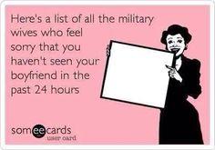 Navy Girlfriend sarcasm ;) https://facebook.com/NavyMomsArt