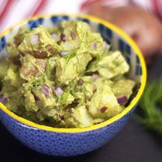 creamy potato salad in a bowl