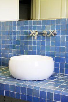 plan vasque en zellige 5x5 | bathroom | Pinterest | Plan vasque ...