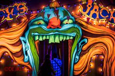 Halloween Horror Nights 4 - Jack's haunted house - Welcome to Jack's Funhouse