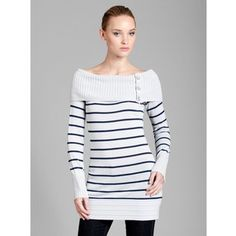 GUESS by Marciano Striped Wilma Tunic