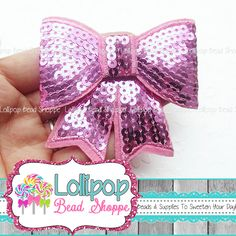 Boutique Bows, Pink Sequin, Sequins, Glitter, Beads, Trending Outfits, Unique Jewelry, Awesome, Handmade Gifts